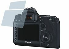 Canon EOS 5DS R (4x) CrystalClear LCD screen guard protector de pantalla