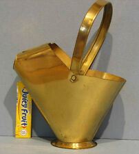 """OLD BRASS TOY COAL HOD * 7 1/2"""" HIGH * NEAR PERFECT CONDITION + FREE SHIP T99"""
