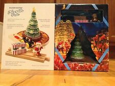 New Brio The Polar Express North Pole Wooden Railway Lite Up Christmas Tree, San