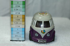 Volkswagen Combi HAPPY VAN CANDY DISPENSER NOVELTY TOY Kidsmania color purple