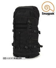 Snupak ENDURANCE 40L BLACK Tactical Molle Day / Patrol Pack Bladder Compatible