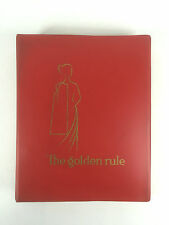 Lutterloh Golden Rule Sewing Pattern System Ruler Supplement