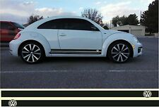 Volkswagen Beetle Jetta Passat Turbo R type Rocker Panel  Decals Side Stripes
