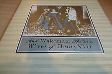 RICK WAKEMAN - THE SIX WIVES OF HENR VIII - ORIGINAL A&M IN GATEFOLD SLEEVE - EX