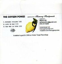 (700Y) The Oxygen Ponies, Fevered Cyclone - DJ CD