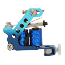Professional 8 Wrap Coils Carbon Steel Tattoo Machine Gun for Liner Shader Blue
