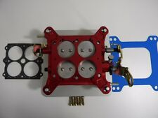 """Holley-QFT-AED Billet Blow-Thru Base Plate Assembly 1 3/4"""" 850-1000 CFM"""