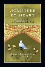 Scripture by Heart: Devotional Practices for Memorizing God's Word NEW Inv80