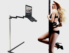 Height adjustable bedside / floor/office stand for laptop/notebook ( 11-16