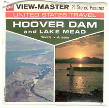 vintage GAF View Master HOOVER DAM & LAKE MEAD A158 Nevada Arizona Canyon Travel
