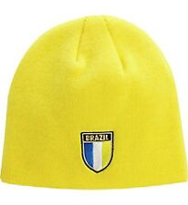 New!! Puma Brasil Brazil Yellow Shield Beanie World Cup