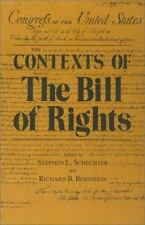 Contexts of the Bill of Rights-ExLibrary