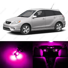 6 x Pink/Purple LED Interior Lights Package For 2003 - 2008 Toyota Matrix