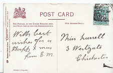 Genealogy Postcard - Family History - Russell - Westgate - Chichester    A1172
