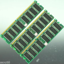 Low Density 3GB 3X 1GB PC2700 DDR333 MEMORY 333MHZ DIMM for Dell,Compaq Computer