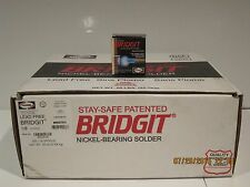 HARRIS BRIDGIT BRGT61 SILVER/NICKEL BEARING SOLDER LEAD FREE SOLDER F/SHIP NISB