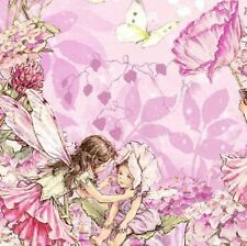Michael Miller Petal Flower Fairies Cotton Fabric DC5057-PINK-D BTY