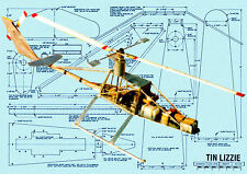 MODEL AIRPLANE RADIO CONTROL HELICOPTER PLANS & BUILDING ARTICLE