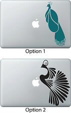 Peacock Bird Art Deco Car Decal Sticker for Apple Mac Book Air/Pro Dell Laptop