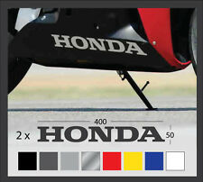 2 x Honda belly pan stickers decals 15.7'' motorcycle fairing cbr 600rr 1000rr