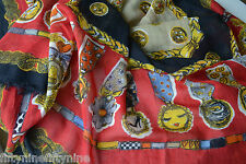 NEW MOSCHINO CHEAP & CHIC WOOL / SILK Scarf  WRAP Made in Italy Woman GIFT  £220
