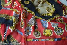 Nouveau MOSCHINO cheap & chic laine / foulard de soie wrap Fabriqué En Italie Femme Cadeau 220 £