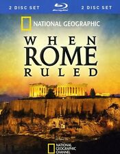 National Geographic: When Rome Ruled [2 Discs] Blu-ray Region A