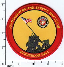 USMC Headquarters & Service Battalion of the Marines PATCH Henderson Hall H&S Bn