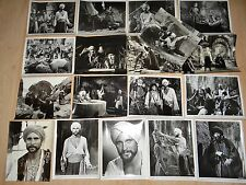 LE VOYAGE FANTASTIQUE DE SINBAD ! ray harryhausen  18  photos presse cinema  v/