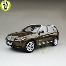 1/18 BMW X3 F25 xDrive 35i RMZ MODEL Diecast Model Car SUV Brown