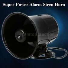 Wireless Voice Siren Horn Outdoor for Home Shop Alarm System Security E4Y8