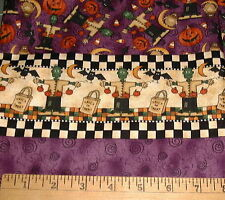 DEBBIE MUMM FABRIC - Halloween - Monster DOUBLE Border