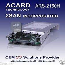 ACARD ARS-2160H Ultra160 SCSI-to-SATA II Bridge Box 80-Pin