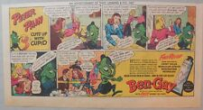 Ben-Gay Ad: Peter Pain: Cuts Up With Cupid! 7.5 x 14 inches