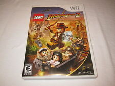 Indiana Jones 2 The Adventure Continues (Nintendo Wii) Complete Excellent!