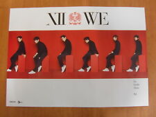 SHINHWA - We (Thanks Edition) [OFFICIAL] POSTER K-POP *NEW*