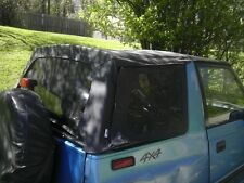1995-1998 Suzuki Sidekick & Geo Tracker Soft Top with Tinted Windows in Black