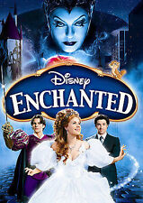 Disney Enchanted DVD- Widescreen- Bloopers- Deleted Scenes- w/ Case & Slip Cover
