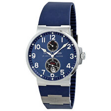 Ulysse Nardin Maxi Marine Automatic Blue Dial Men Watch 263-66-3-623