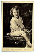 Cartolina Originale S.K.H. Prinz Albrecht Von Bayern