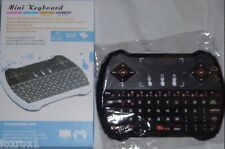 New Mini Handheld Wireless i9 Keyboard Multi Media Remote Control Black or White