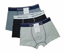 "NEW! AUTH NAUTICA MEN'S BOXER BRIEF UNDERWEAR (SIZE XL /W34-36"", PACK OF 3 PRS)"