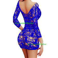 Sexy Lingerie Dress Nightwear Sleepwear G-string Underwear Lace Women's Babydoll
