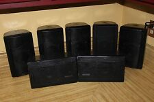 3x Klipsch KHO-7 Main / Stereo Outdoor horn Speakers Black