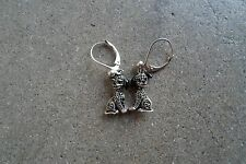 Disney Judith Jack 101 Dalmatians Sterling Marcasite Earrings