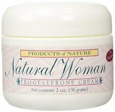 100% Natural Womens Progesterone Cream - Reduce Stretchmarks Relieve PMS - 2 oz.