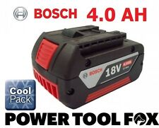 12 ONLY! Bosch 18v 4.0ah Li-ION Battery (COOL PACK) 2607336815 1600Z00038 4BLUE*