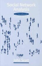 Social Network Analysis : A Handbook by John Scott (2000, Paperback, Revised)