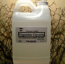 PURE VEGETABLE GLYCERIN VG E-VAPE JUICE LIQUID 64 oz NON-GMO FOOD GRADE 1/2 GAL