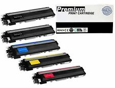 5 Pk Compatible Brother TN-210 TN210 Toner BCMY MFC-9320CW MFC-9325CW HL-3070CW